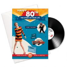 80th Birthday..The Story of your Life CD/Booklet